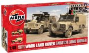 Airfix A06301: 1/48 Scale British Forces Land Rover Twin Set ()
